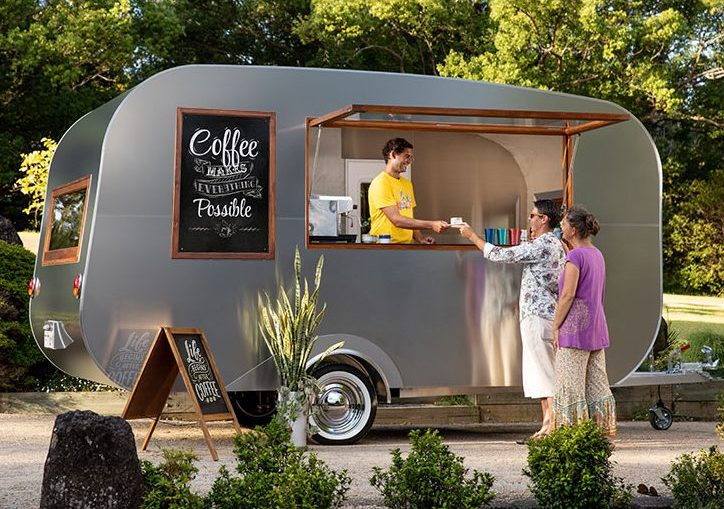 Vintage Caravans Coffee Van